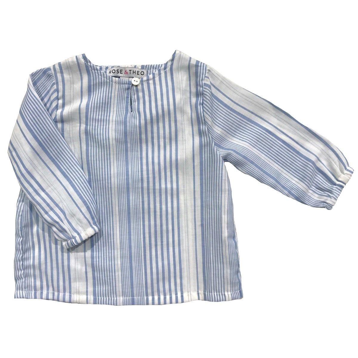 Chemise en coton à rayures JEREMI