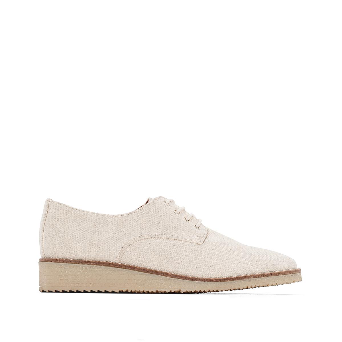 Ботинки-дерби тканевые ботинки дерби