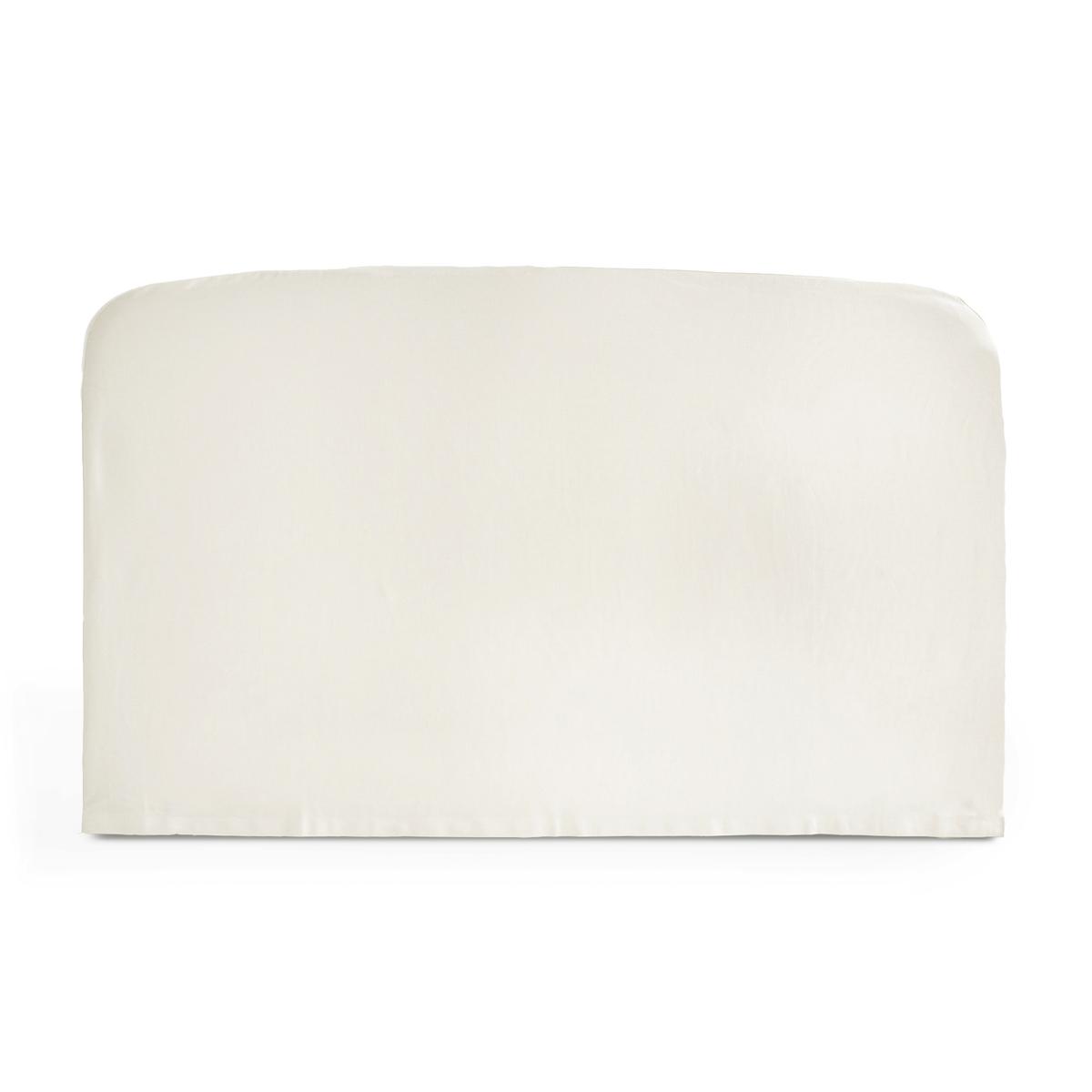 Чехол La Redoute Для изголовья кровати округлой формы из хлопка SCENARIO 160 x 85 см белый подушка набивная для изголовья кровати aeri