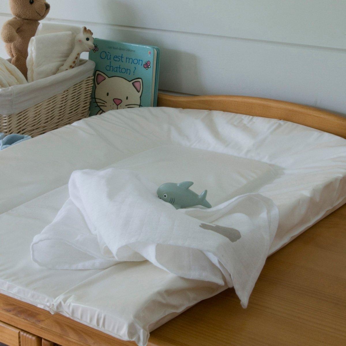 Матрас La Redoute Для пеленания единый размер белый комплект из полотенце для la redoute рук из хлопка и льна nipaly 50 x 100 см белый
