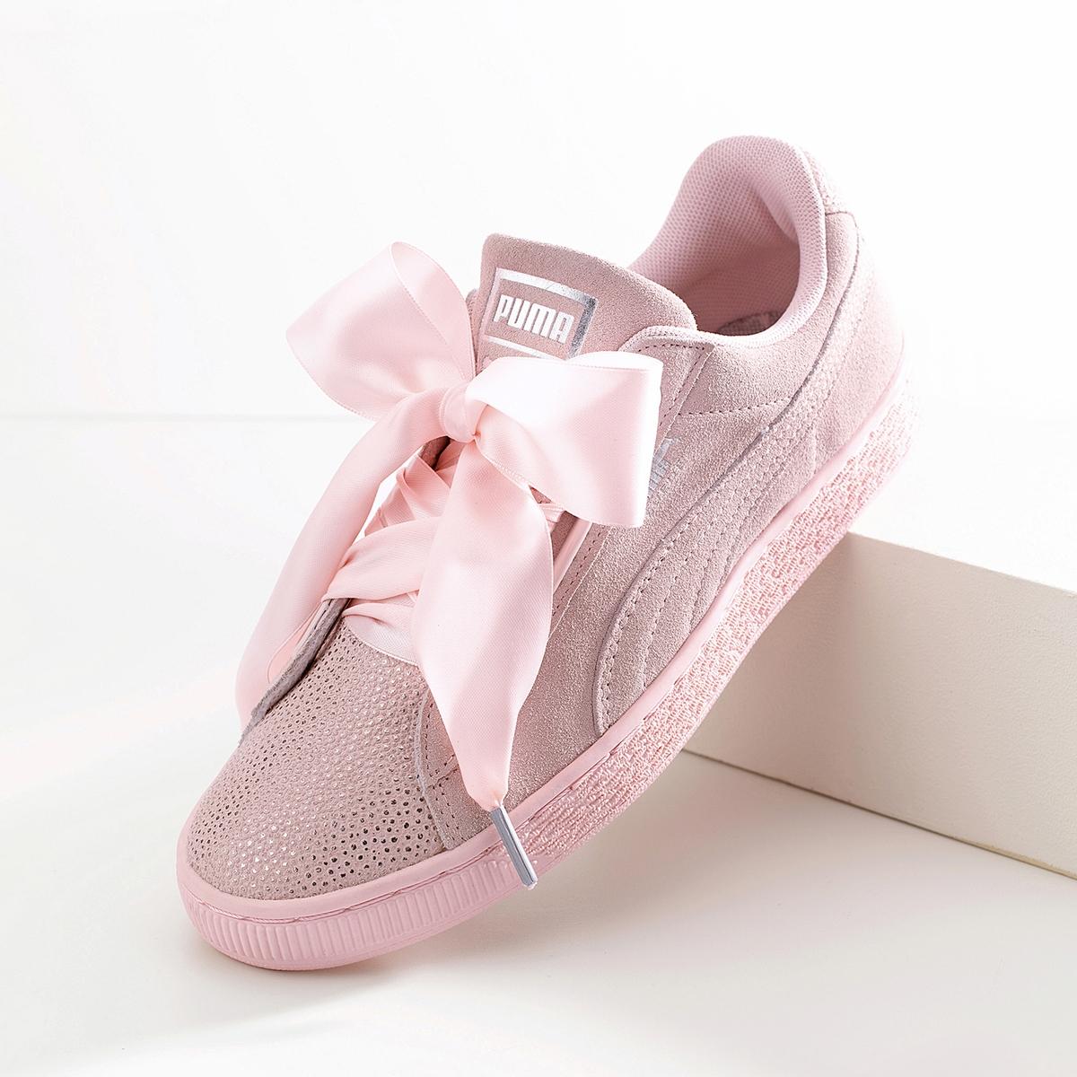 Imagen principal de producto de Zapatillas W Suede Heart Bubble - Puma