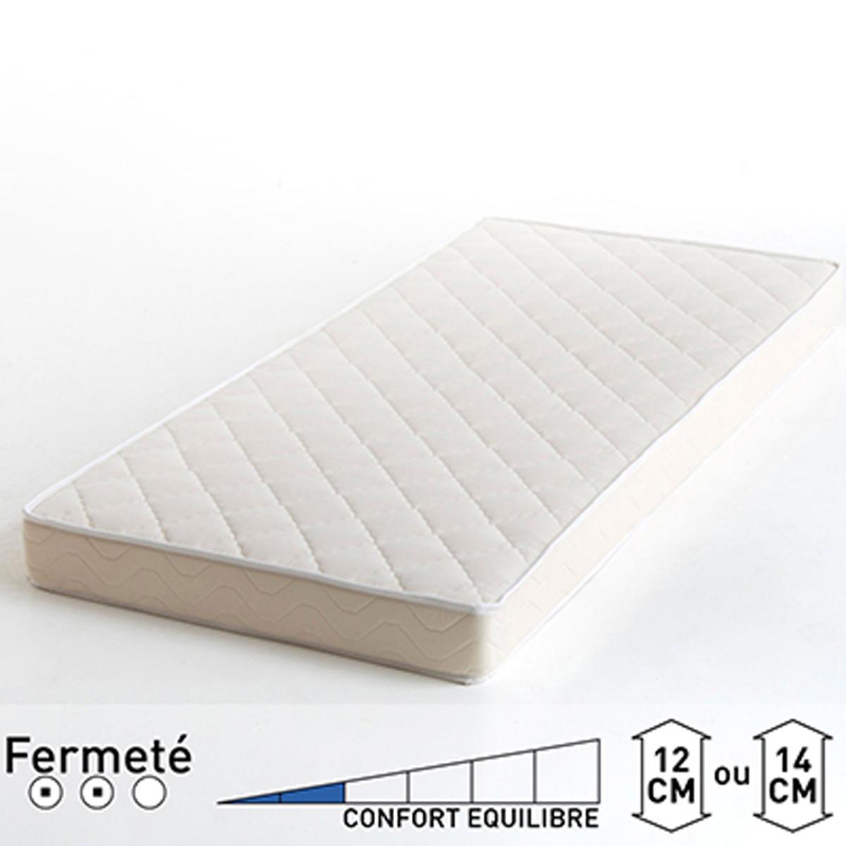Матрас La Redoute Для кровати с ящиком 90 x 180 x 12 белый