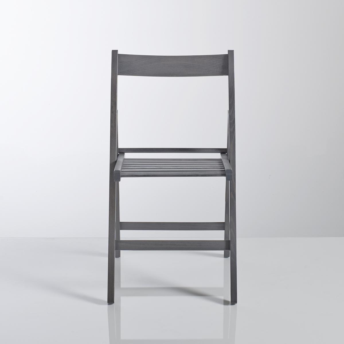2 складных стула из массива бука Yann