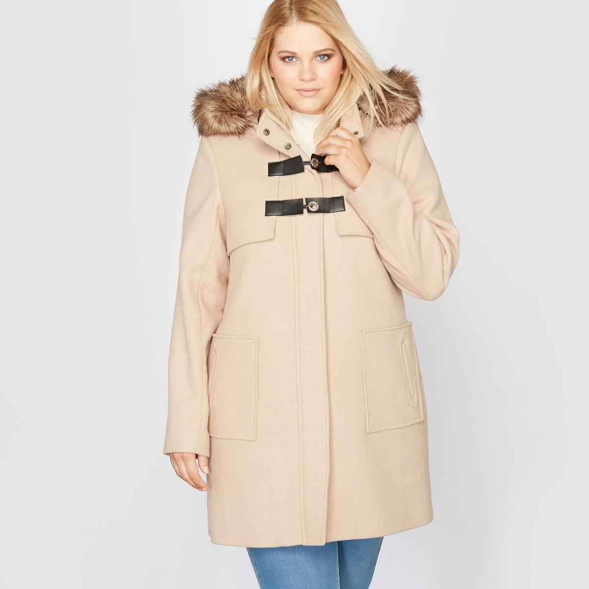CASTALUNA Короткое пальто с капюшоном
