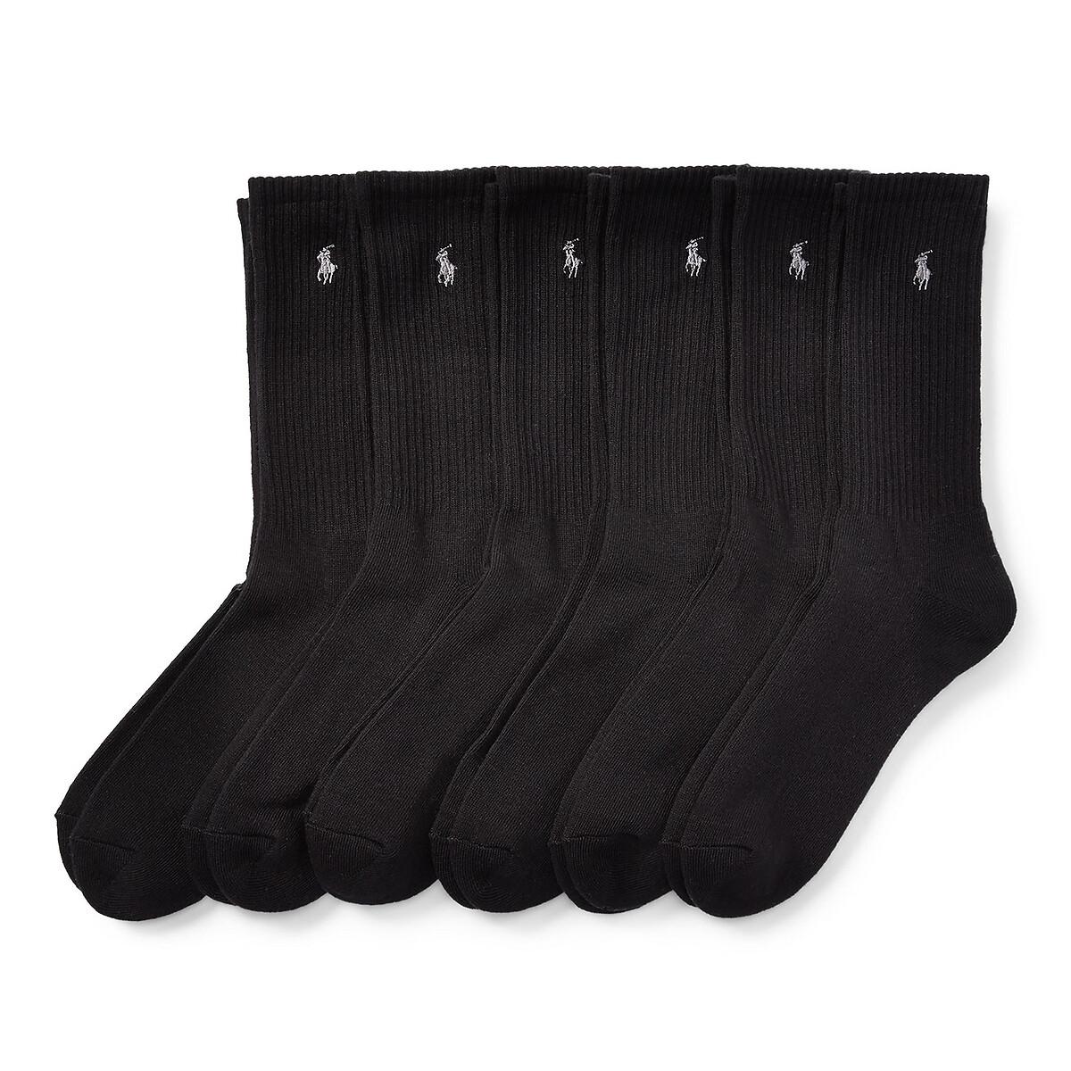 Комплект из 6 пар носков LaRedoute La Redoute 39/45 черный комплект из 6 пар носков la redoute la redoute 39 45 черный