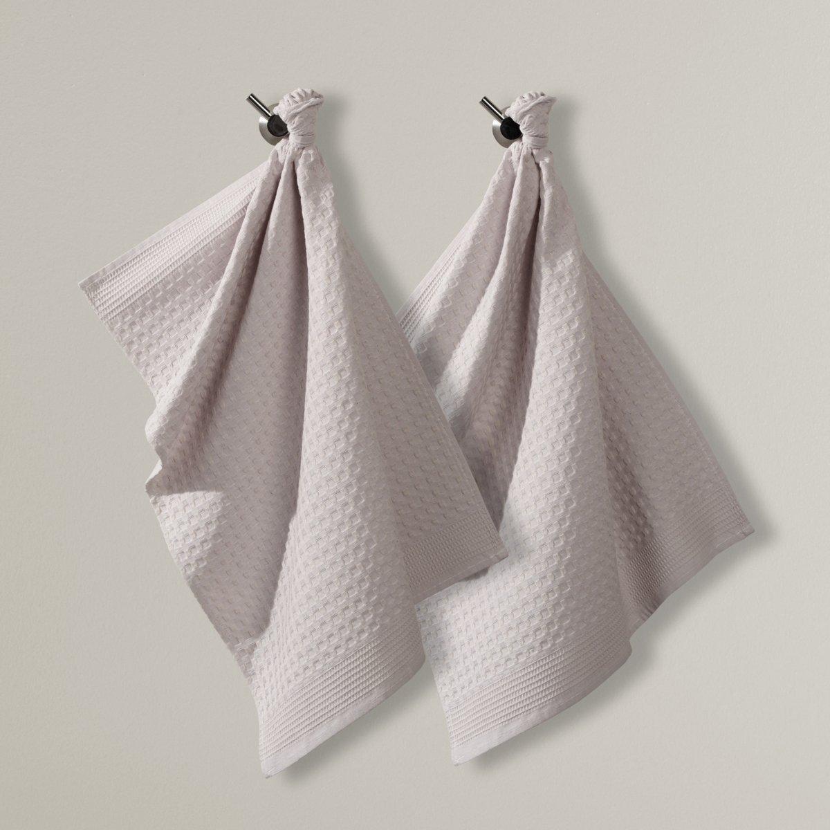 Комплект из 2 кухонных полотенец специально для стаканов, 100% хлопок полотенца кухонные la pastel комплект кухонных полотенец gabel 6пр 50x70 primizie