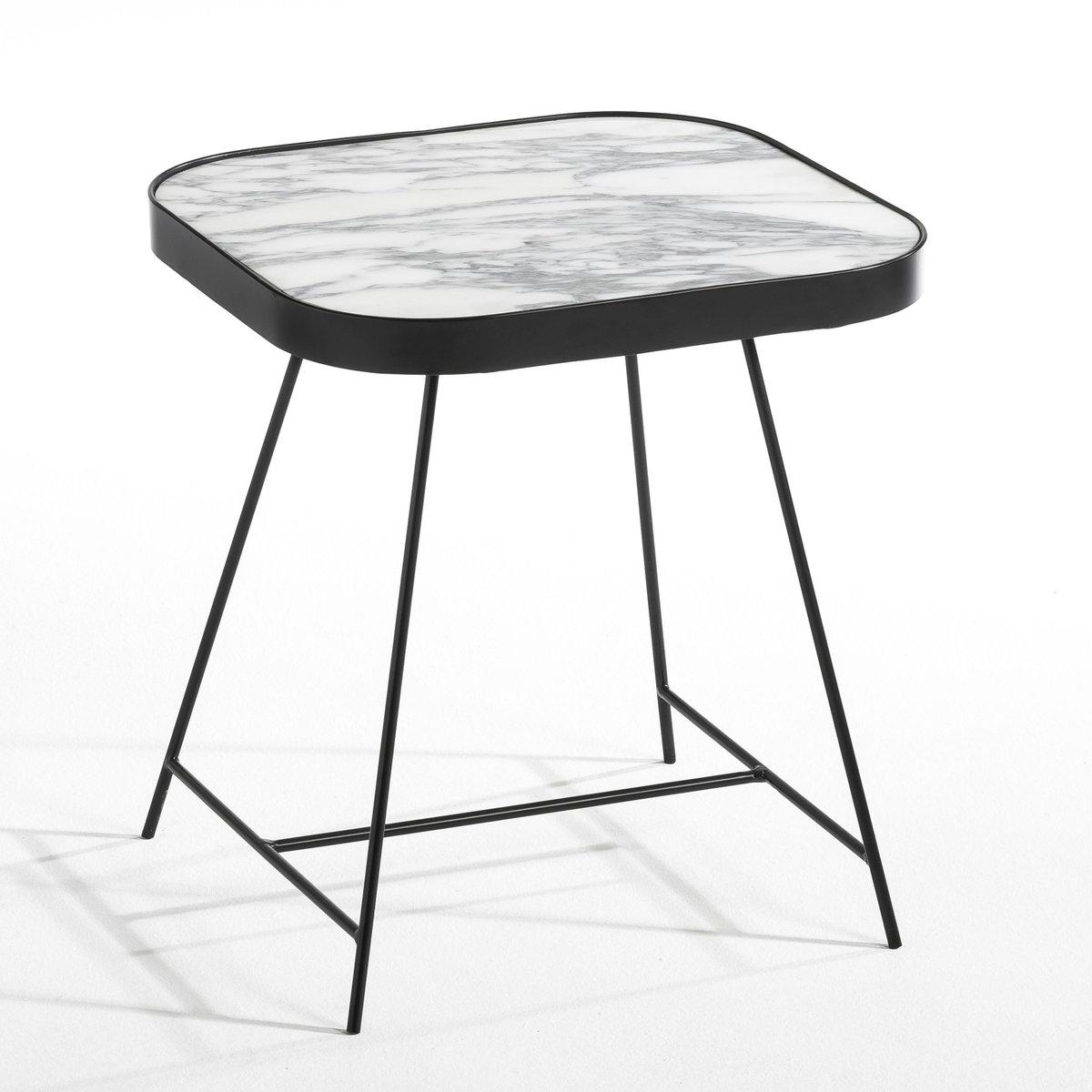 Столик диванный из мрамора Gemma, дизайн Э. Галлины