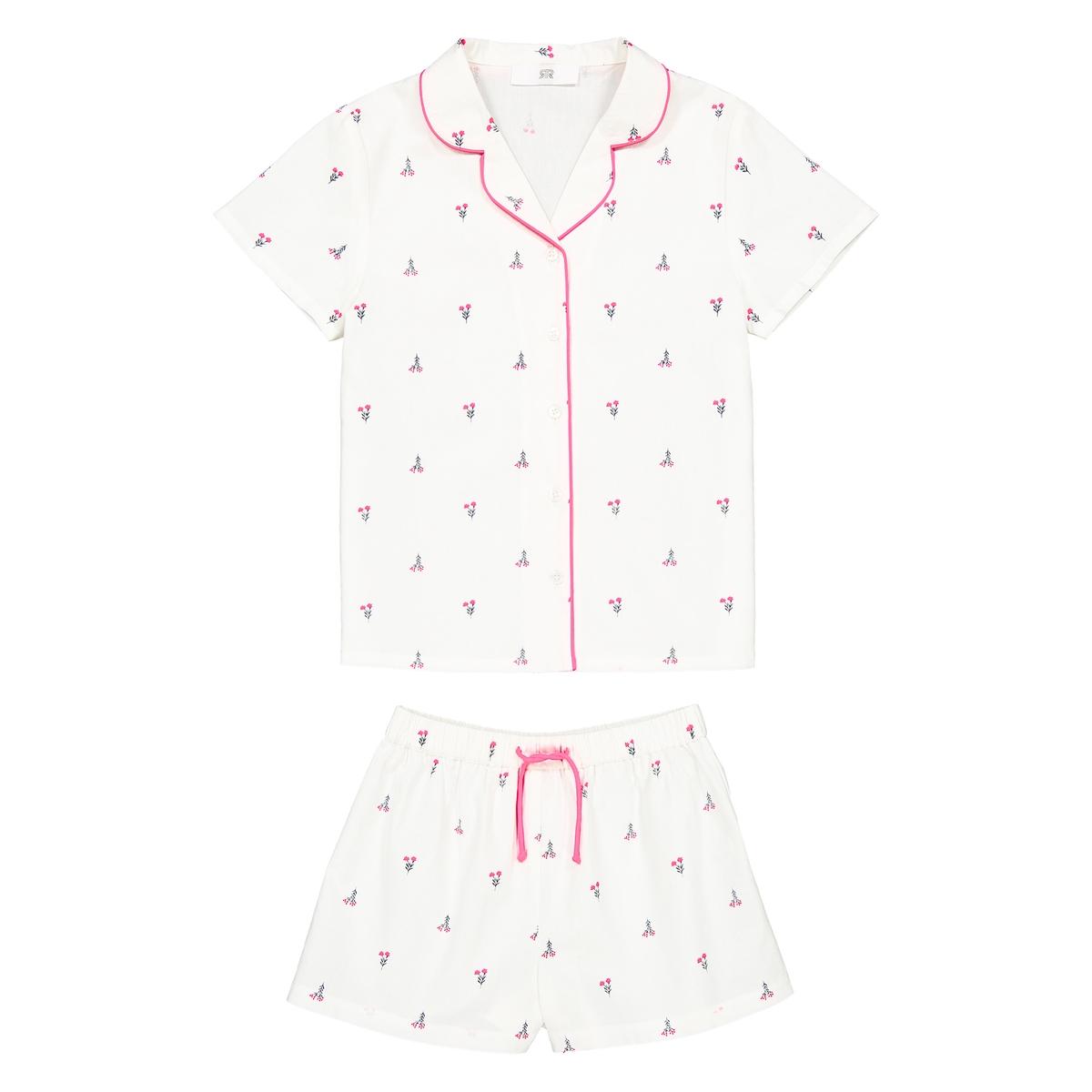 Пижама с принтом 3-12 лет La Redoute Collections
