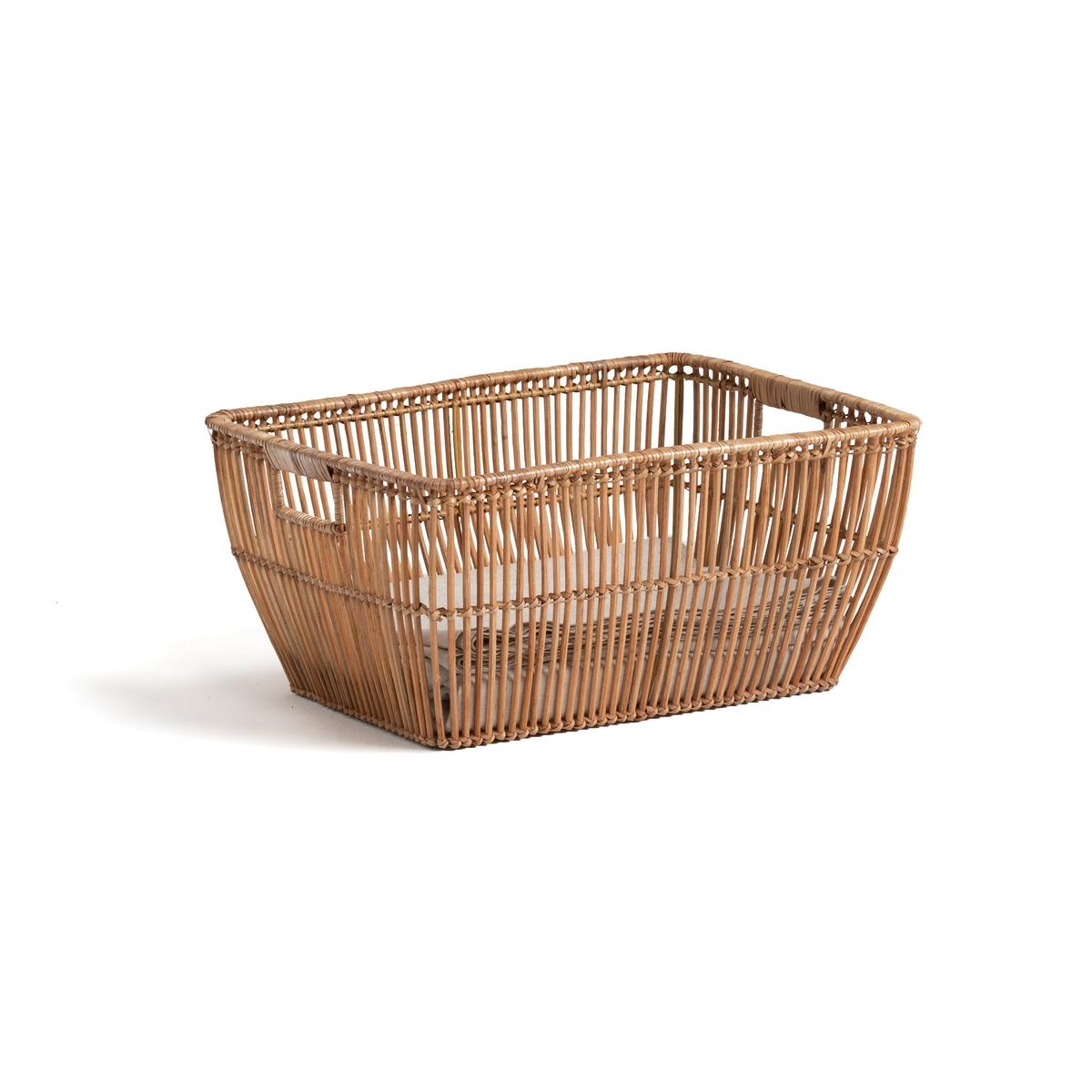 Корзина La Redoute Для белья из ротанга ДxВсм Sentaku единый размер бежевый мебель из ротанга