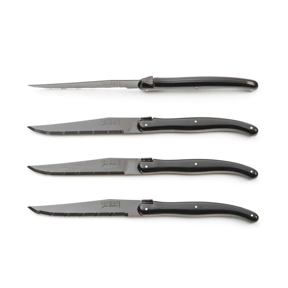 Комплект из 4 ножей, LASIA LaRedoute La Redoute единый размер черный пуф la redoute из шерсти carito единый размер серый