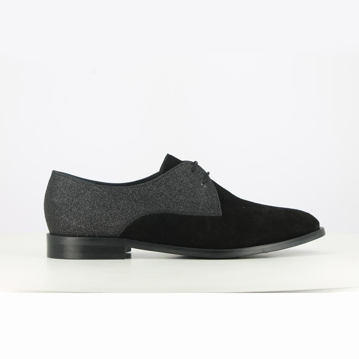 Ботинки-дерби кожаные Daido, эксклюзивная модель La Redoute