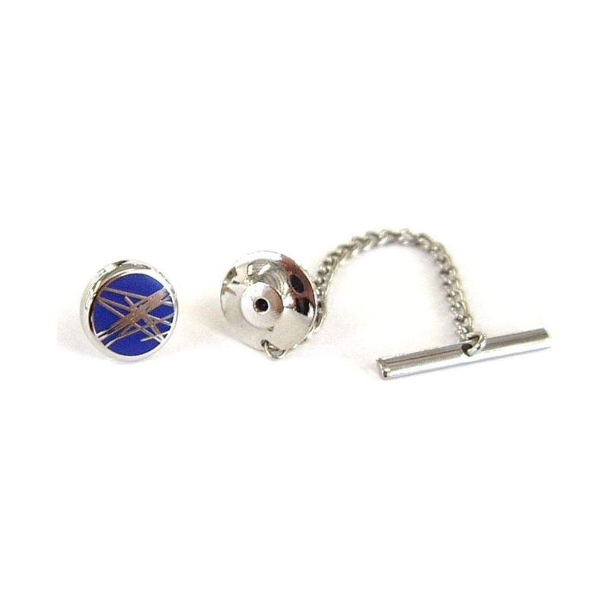 Epingle à cravate acier rhodié diffusion