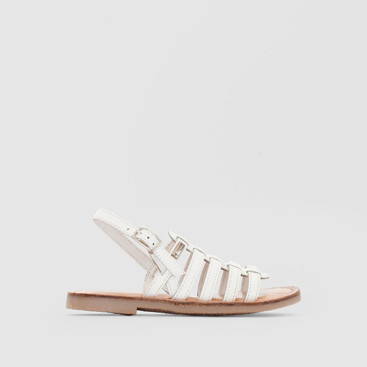 Сандалии кожаные LES TROPEZIENNES, дизайн М. Беларби, модель LILOU сандалии кожаные gopak