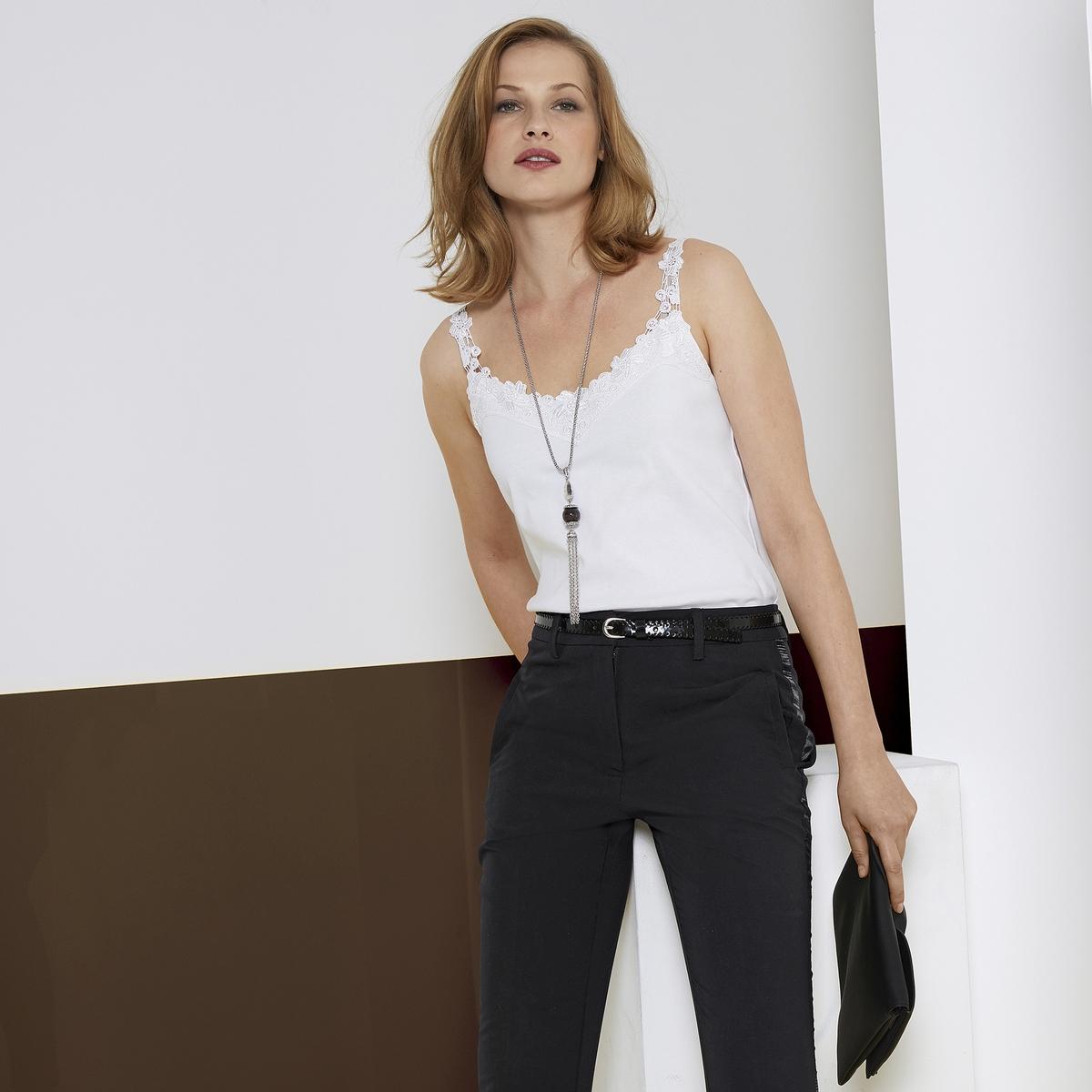 Imagen adicional de producto de Pantalón recto tobillero, estilo esmoquin - Anne weyburn
