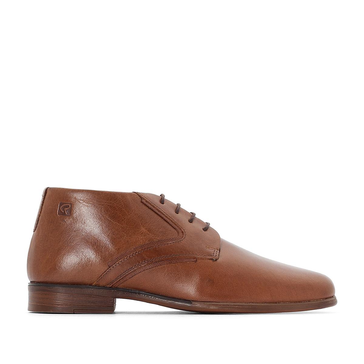 Ботинки-дезерты кожаные NADELI