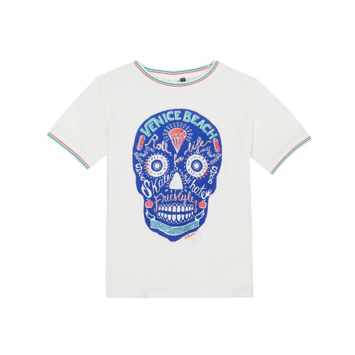 T-shirt com motivo caveira mexicana, 3-12 anos
