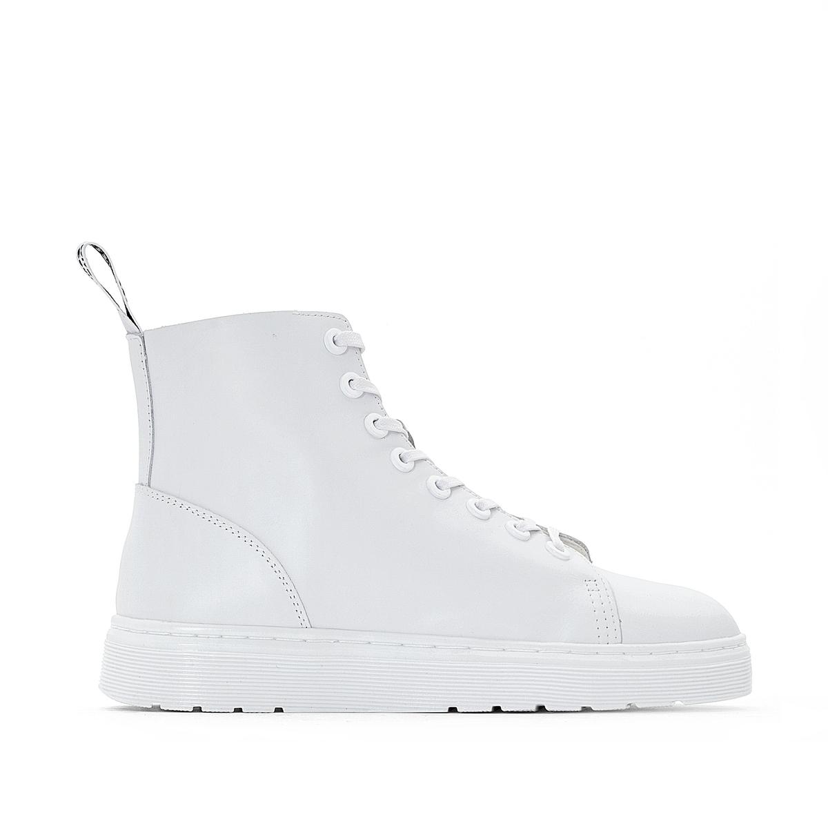 Ботинки кожаные на шнуровке Talib цены онлайн