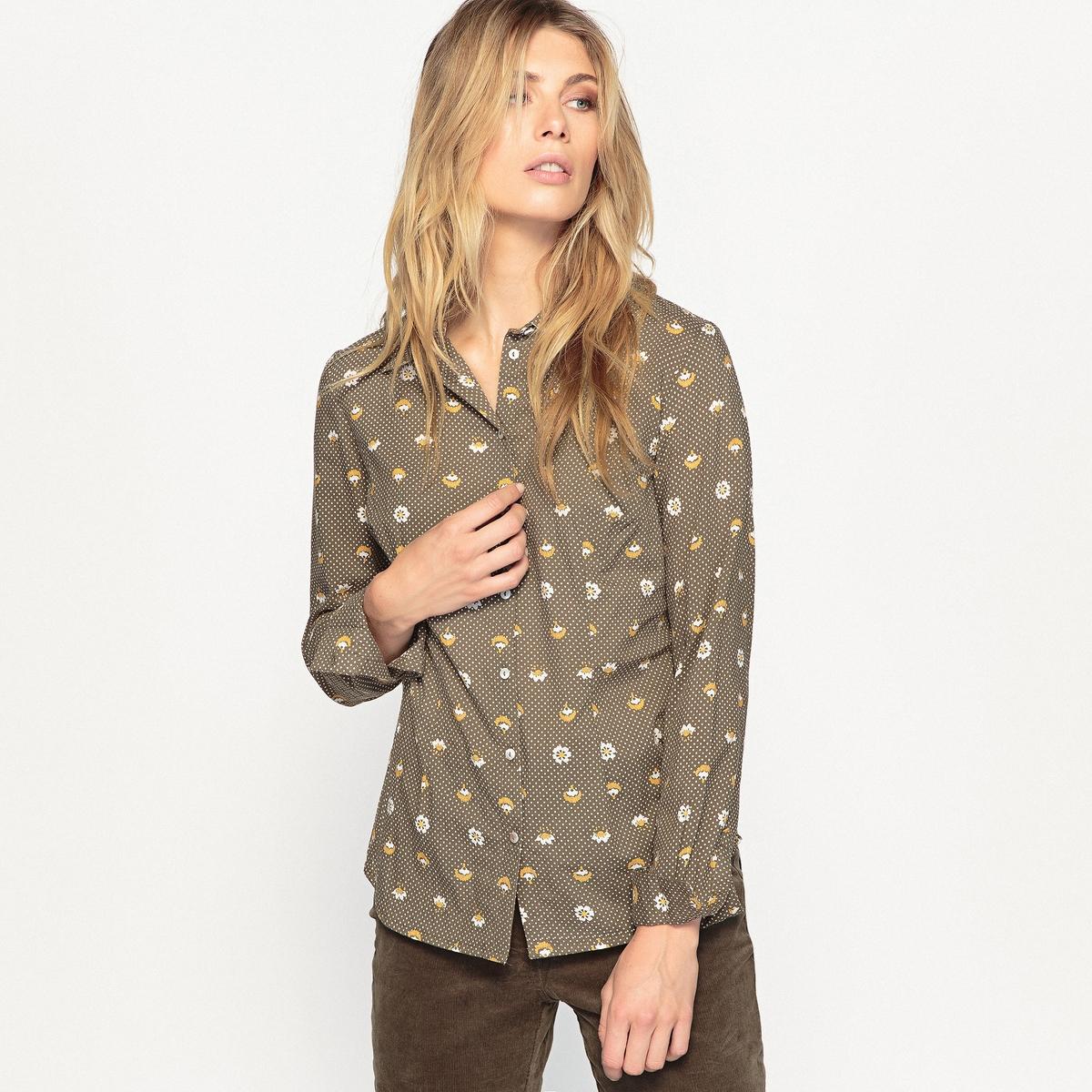 Блузка с рисунком, 100% хлопок