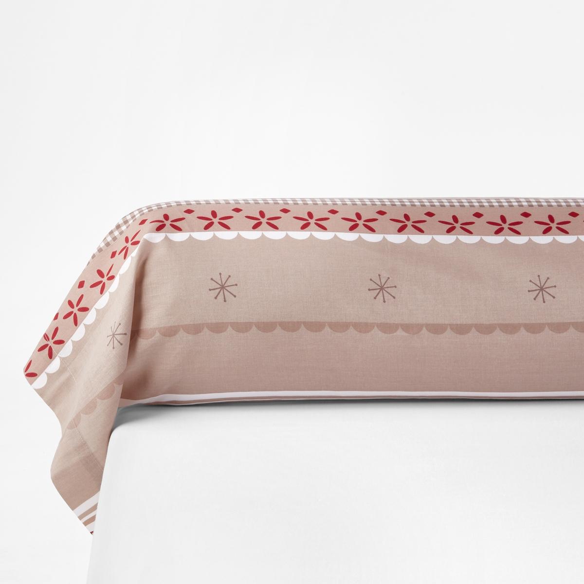 Наволочка на подушку-валик с принтом, Tyrol