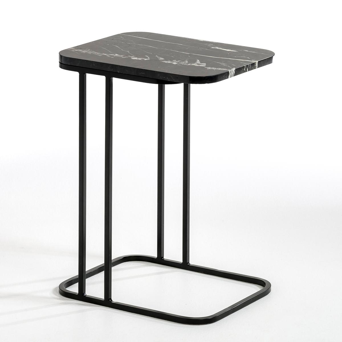 Столик журнальный Trebor, design E. GallinaЭтот журнальный столик является составной частью кочующих и мультифункциональных элементов мебели. Составьте  ваш комплект вместе с модулируемым диваном Harold, который продается также на нашем сайте. Он может также сочетаться с другими диванами.Этот товар получил знак  VIA2015 (использование инноваций в производстве мебели).Описание : - Каркас из металла .- Столешница из мрамора  . Каждый кусок мрамора уникален, поэтому количество прожилок может отличаться в большую или меньшую сторону .Размеры : - 40 x 54 x 32 см . Размеры и вес ящика :- .58,5 x .34,5 x .43 см..<br><br>Цвет: мраморный