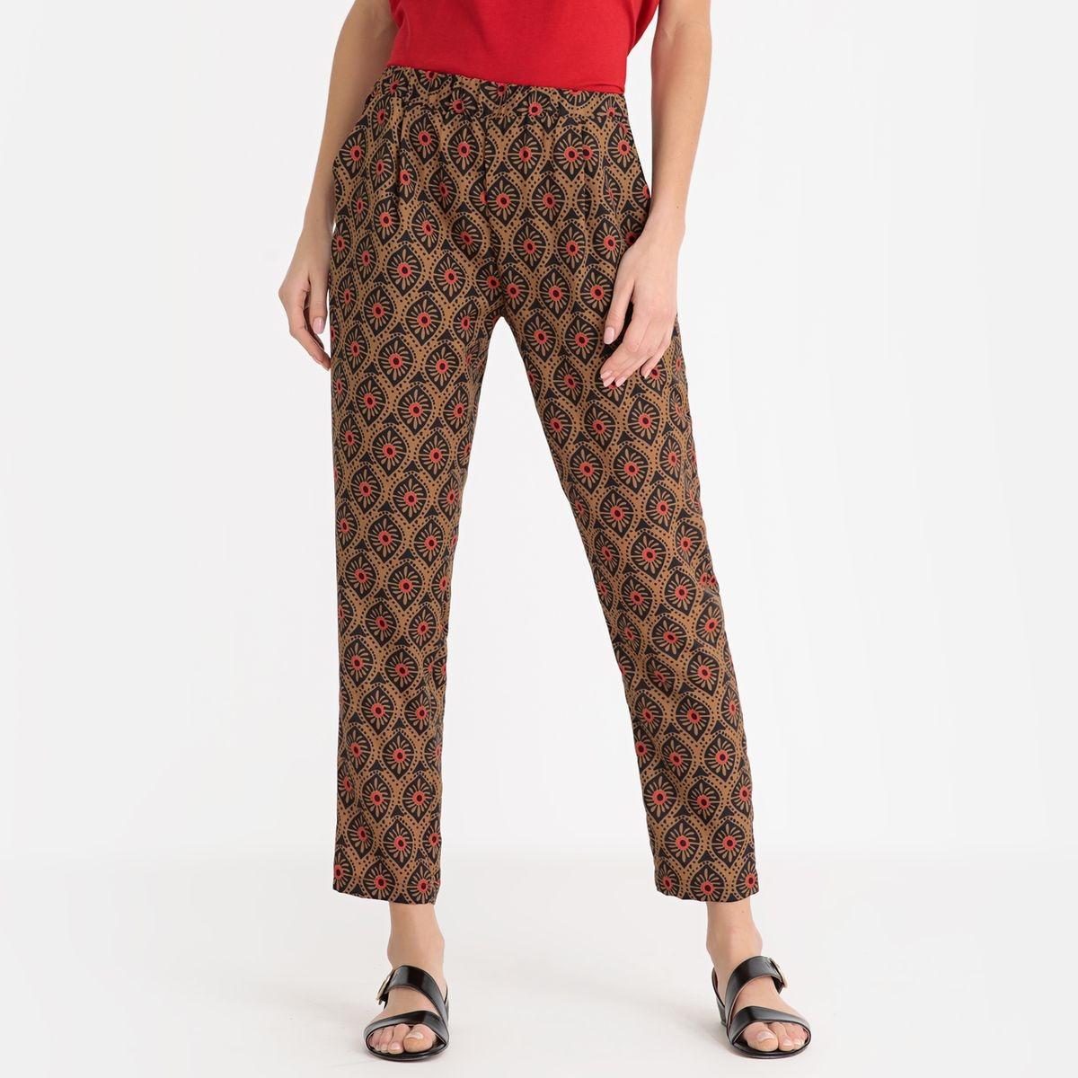Pantalon tissu imprimé YOAN