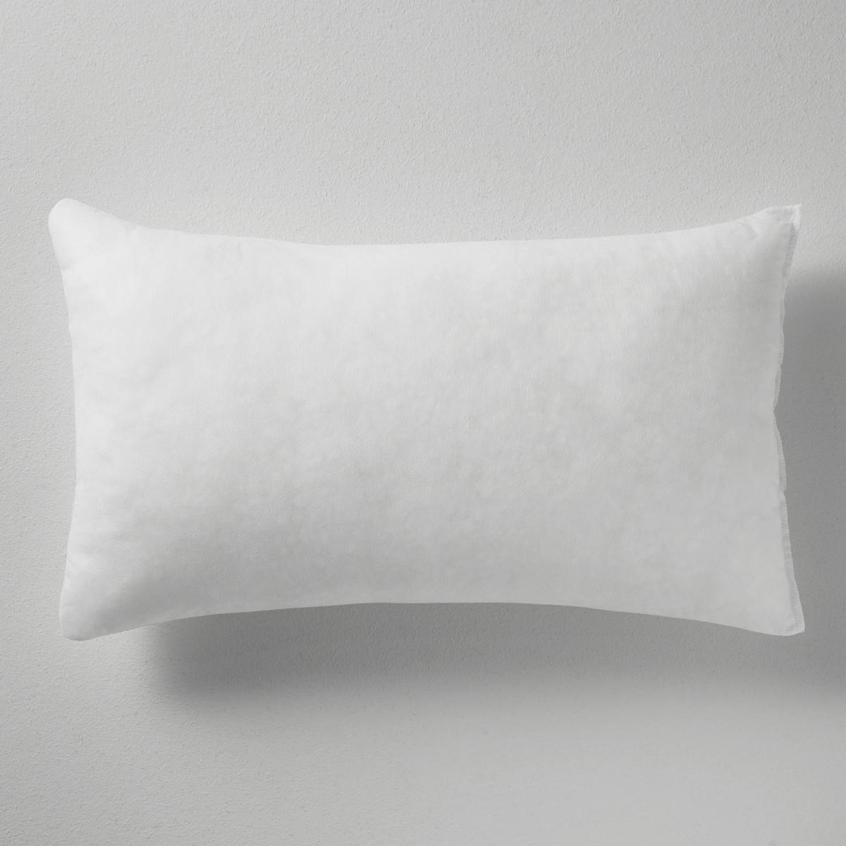 Подушка с синтетическим наполнителем InМатериал :  - Поверхность из тканого материала 100% полипропилена.  - Наполнитель из 100% переработанного полиэстера.<br><br>Цвет: белый