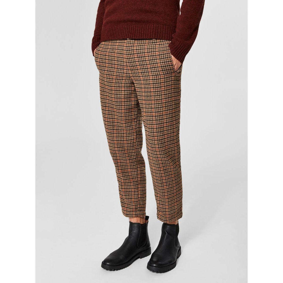 Pantalon À carreaux -