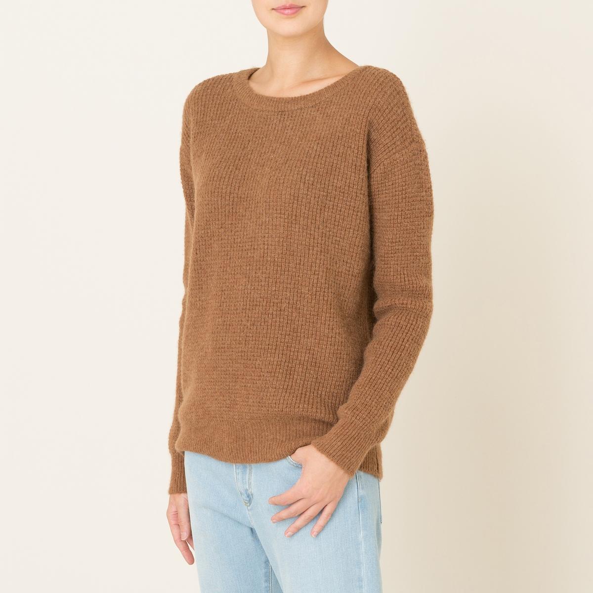 Пуловер TIGAСостав и описание Материал : 53% полиамида, 28% альпаки, 19% шерстиМарка : HARRIS WILSON<br><br>Цвет: темно-бежевый