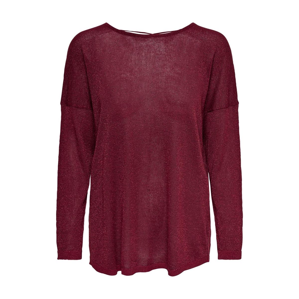 Пуловер La Redoute С круглым вырезом и длинными рукавами XS красный пуловер la redoute с круглым вырезом и длинными рукавами m каштановый