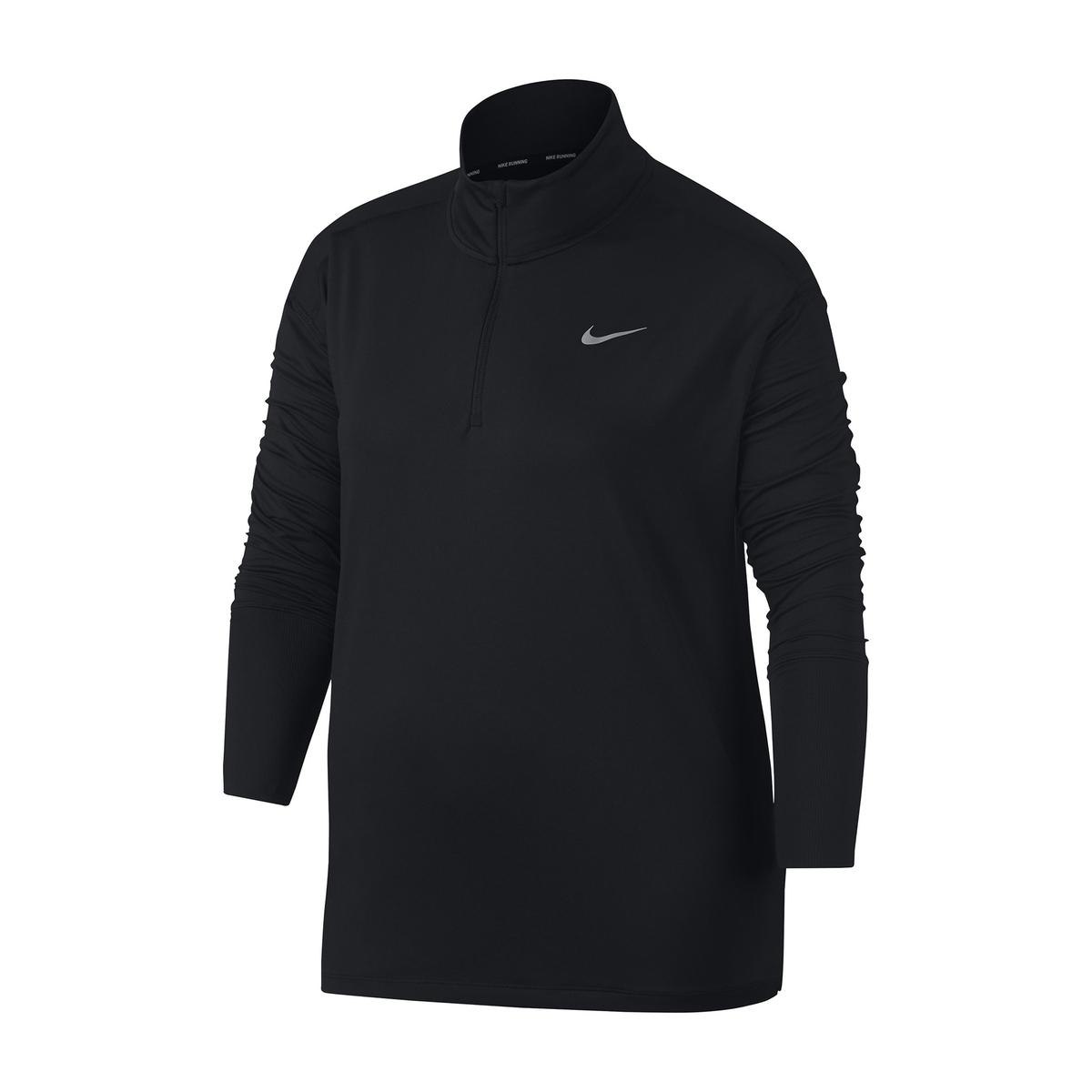 Imagen principal de producto de Camiseta para mujer de manga larga, con cremallera - Nike