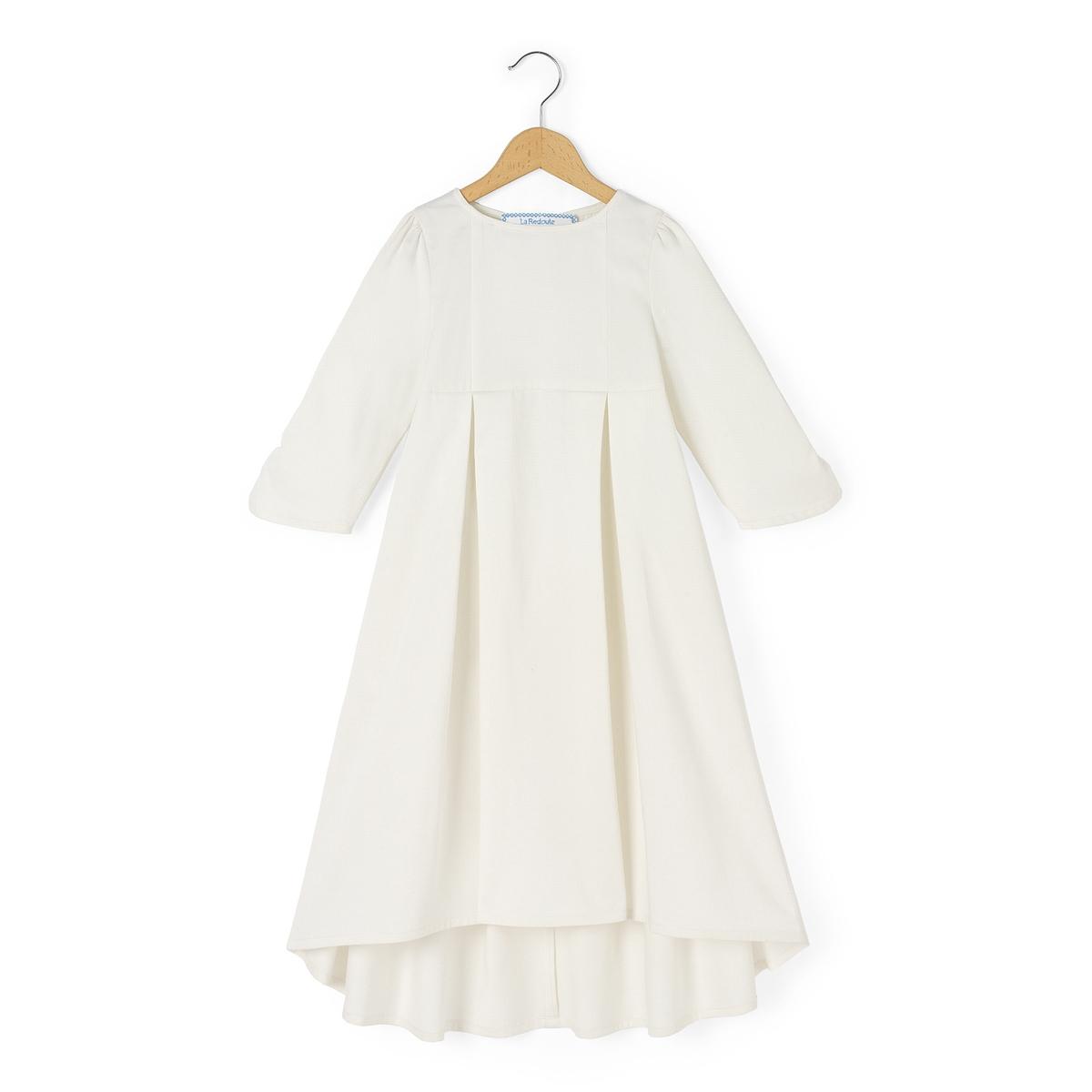 Платье для торжества из сатина, 3-12 лет