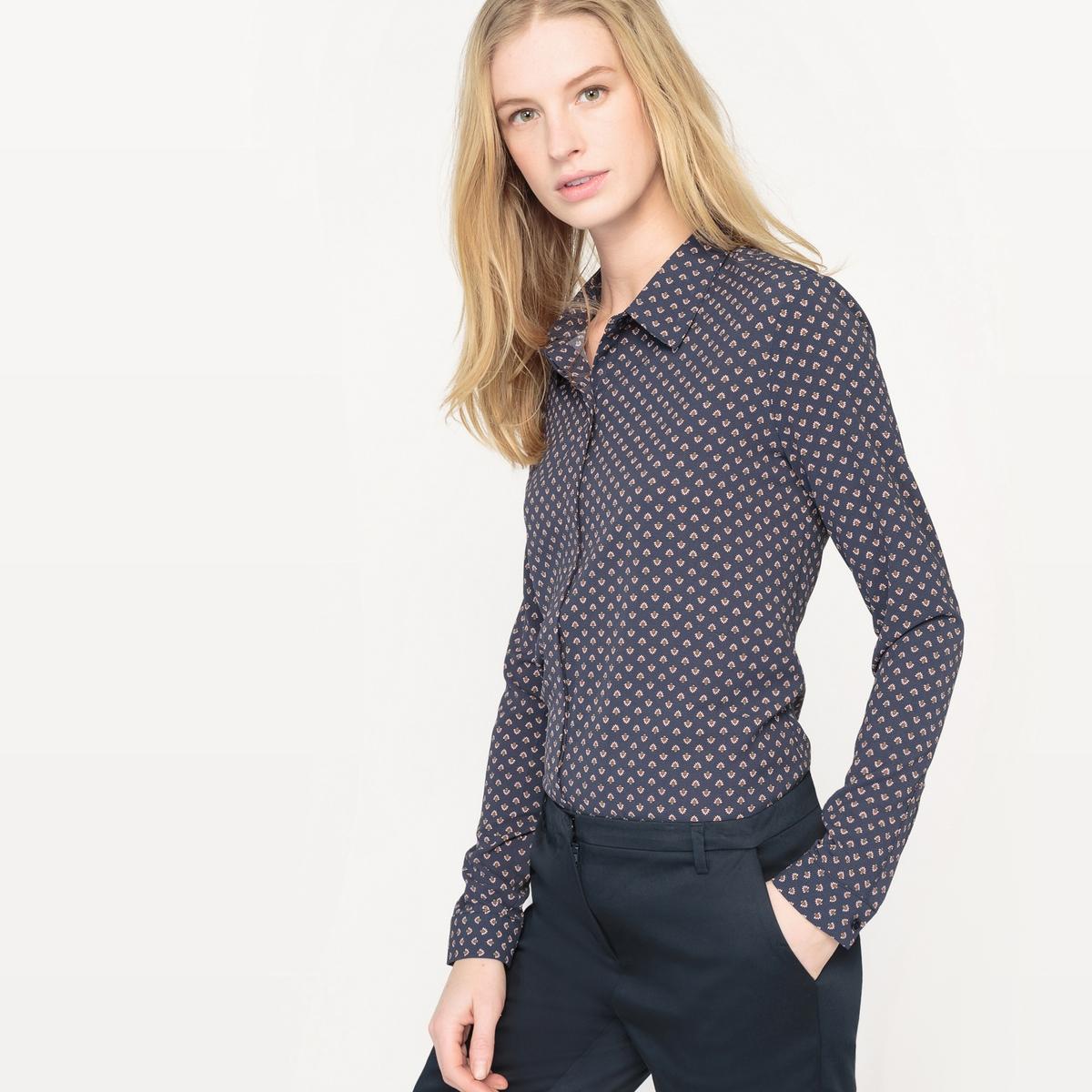 Рубашка приталенная, Made in France