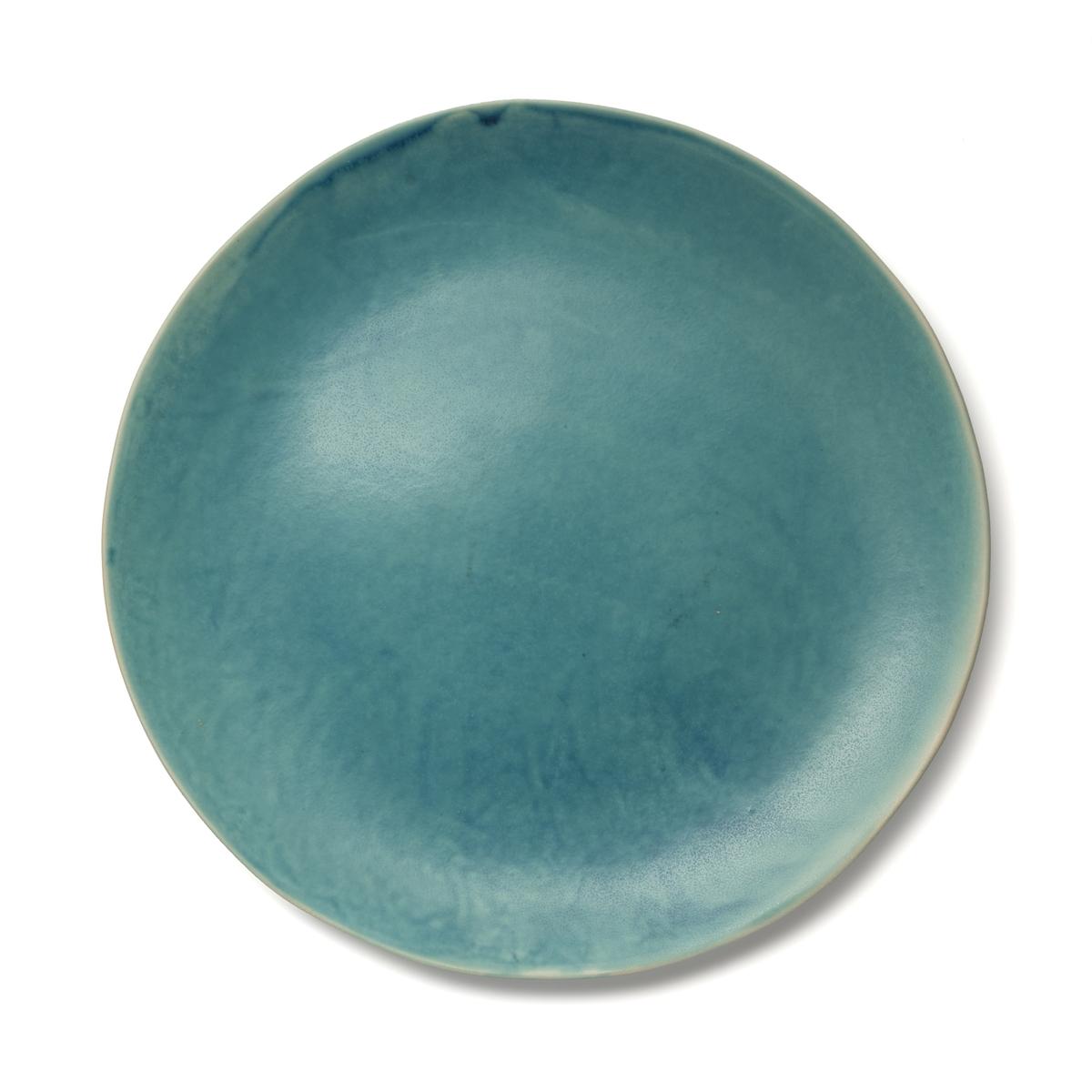Тарелка La Redoute Десертная из керамики покрытой глазурью Akemi единый размер синий