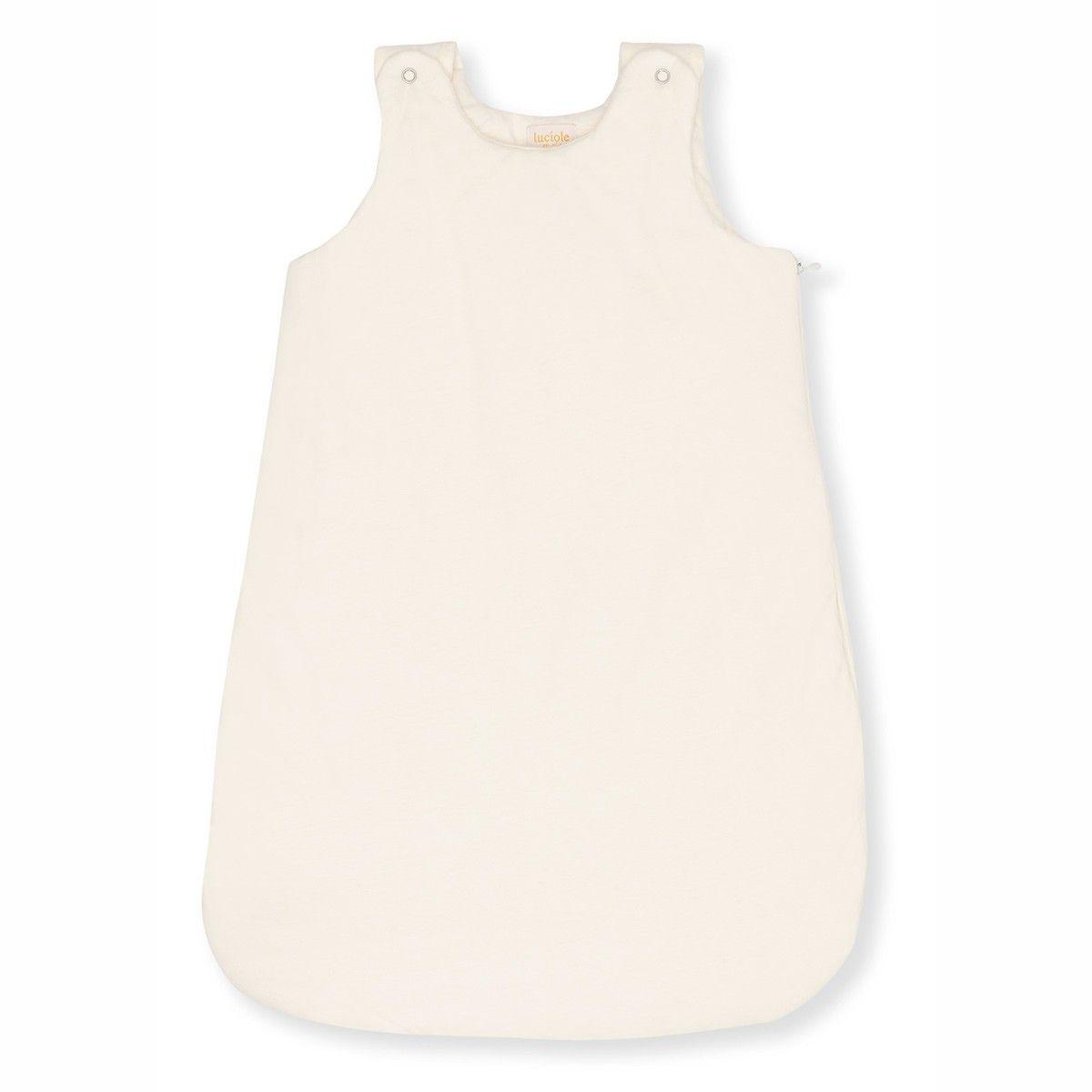 Gigoteuse en jersey de coton bio écru, Made in France