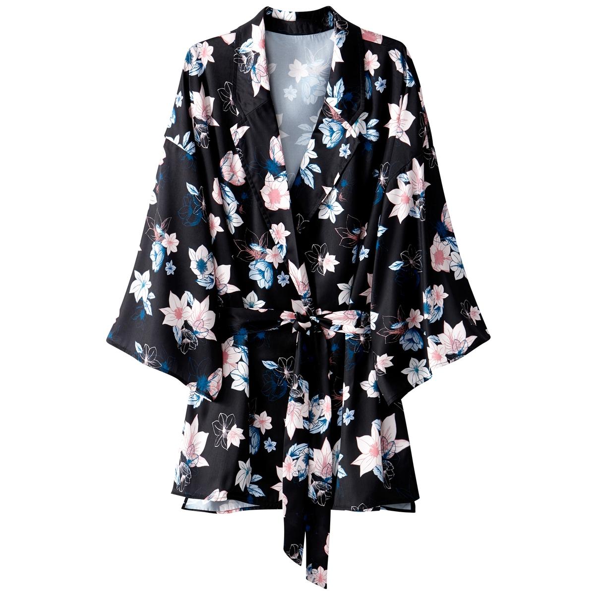 Рубашка-кимоно, пиджачный воротник