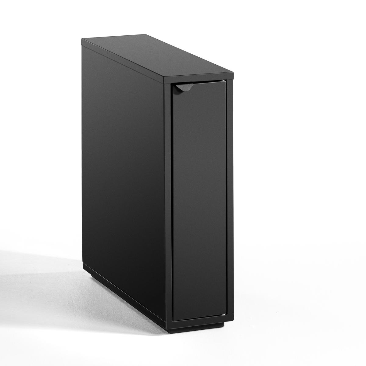 цена на Ящик La Redoute Для письменного стола с дверкой Angus единый размер черный