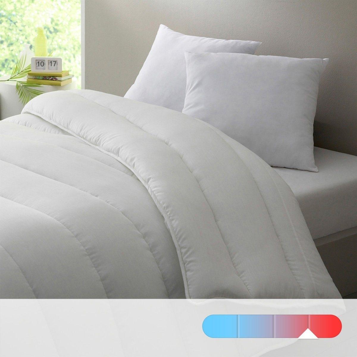 Одеяло La Redoute гм полиэстер обработка против клещей 240 x 220 см белый