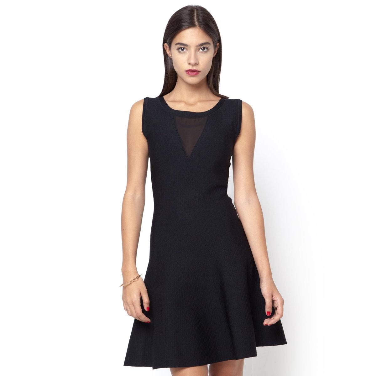 Платье<br><br>Цвет: черный<br>Размер: 2(M)