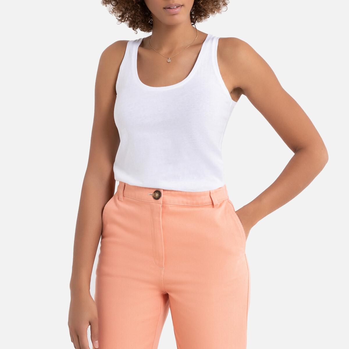 Lote de 2 camisetas sin mangas, de algodón orgánico