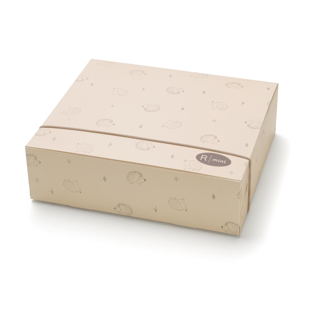 Коробка подарочная B?b?Подарочная коробка продается в согнутом виде и очень просто собирается .<br><br>Цвет: экрю<br>Размер: единый размер