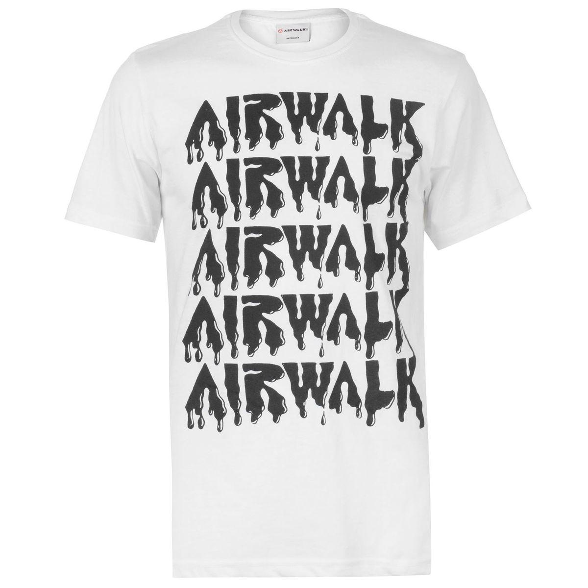 T-shirt col rond manche courte imprimé