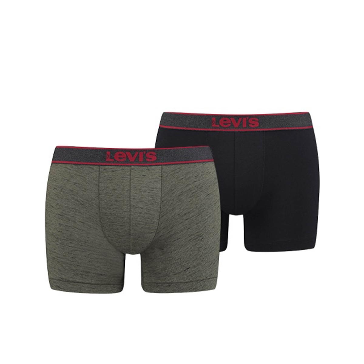 Lote de 2 boxers de algodón stretch