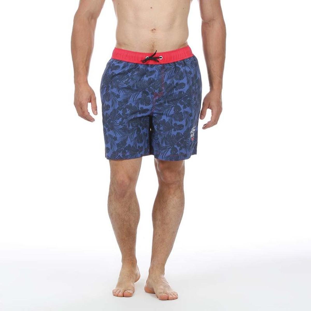 Short de bain rugby tropical