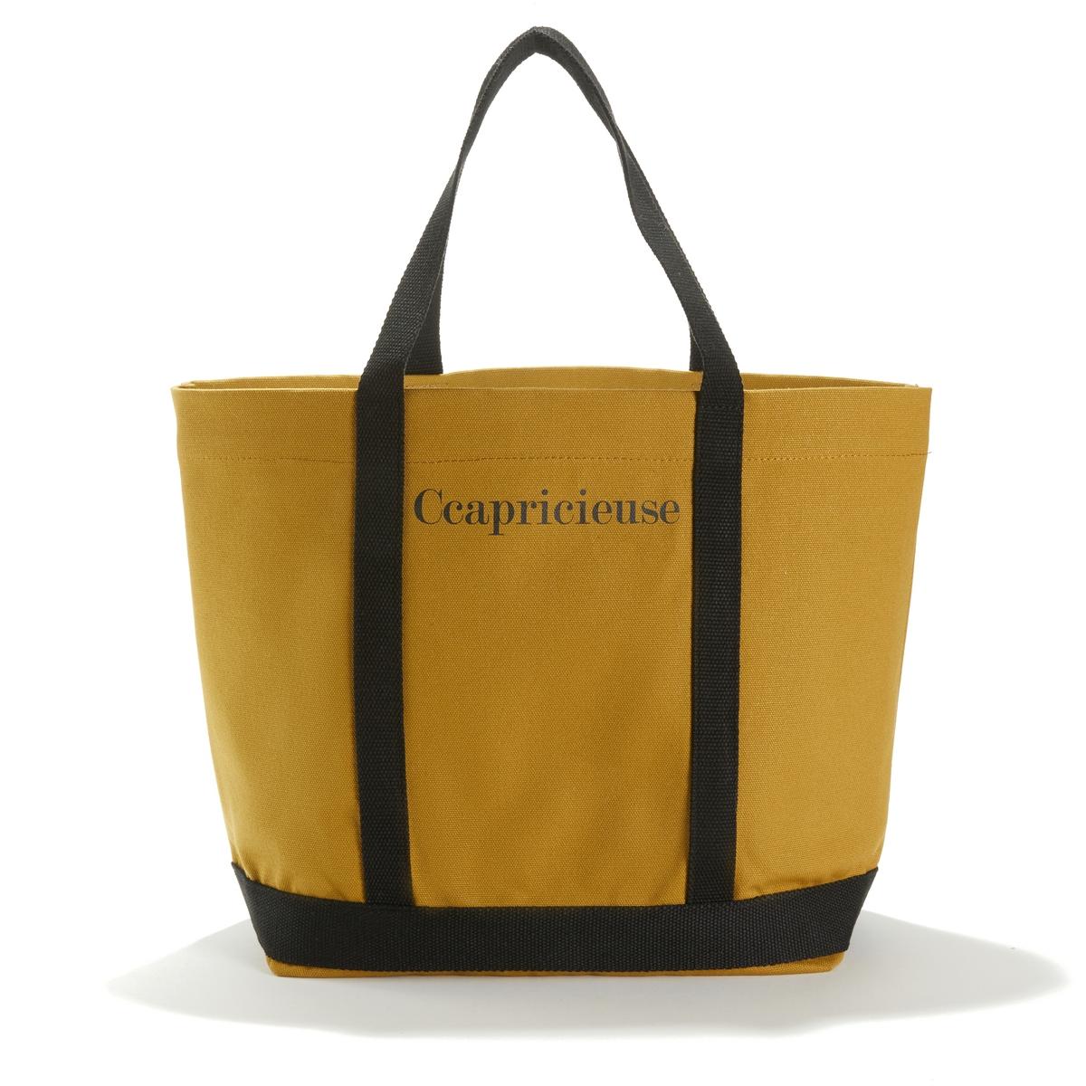 Сумка-шоппер с надписью Ccapricieuse