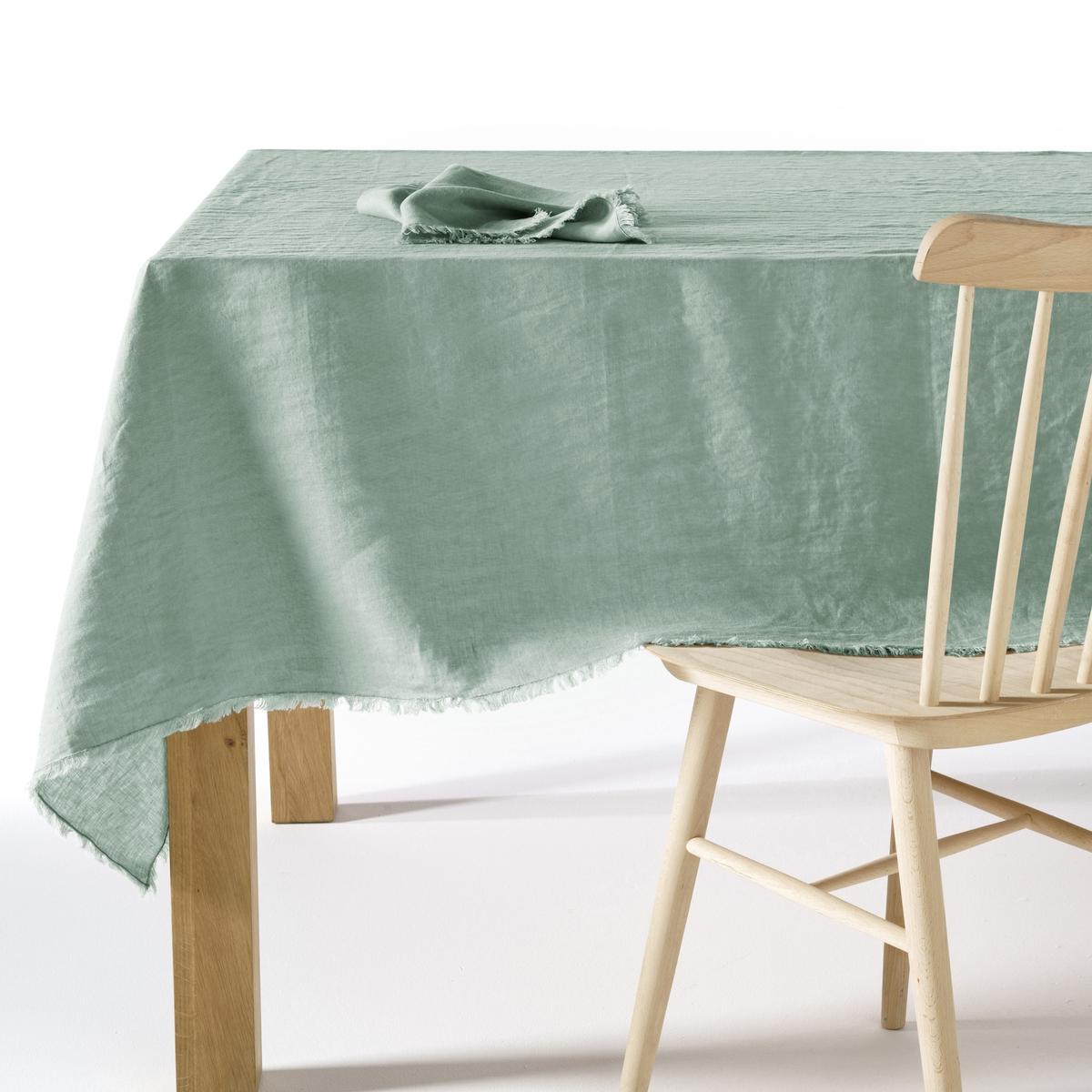 Скатерть из стиранного льна, YastigiСкатерть Yastigi. Скатерть, сочетающая натуральную мягкость стиранного льна и изысканность отделки бахромой Столовые салфетки Yastigi из комплекта продаются на нашем сайте . Материал : - 100% стираный лен<br><br>Цвет: белый,бледно-розовый,зеленый шалфей,серо-бежевый,серый