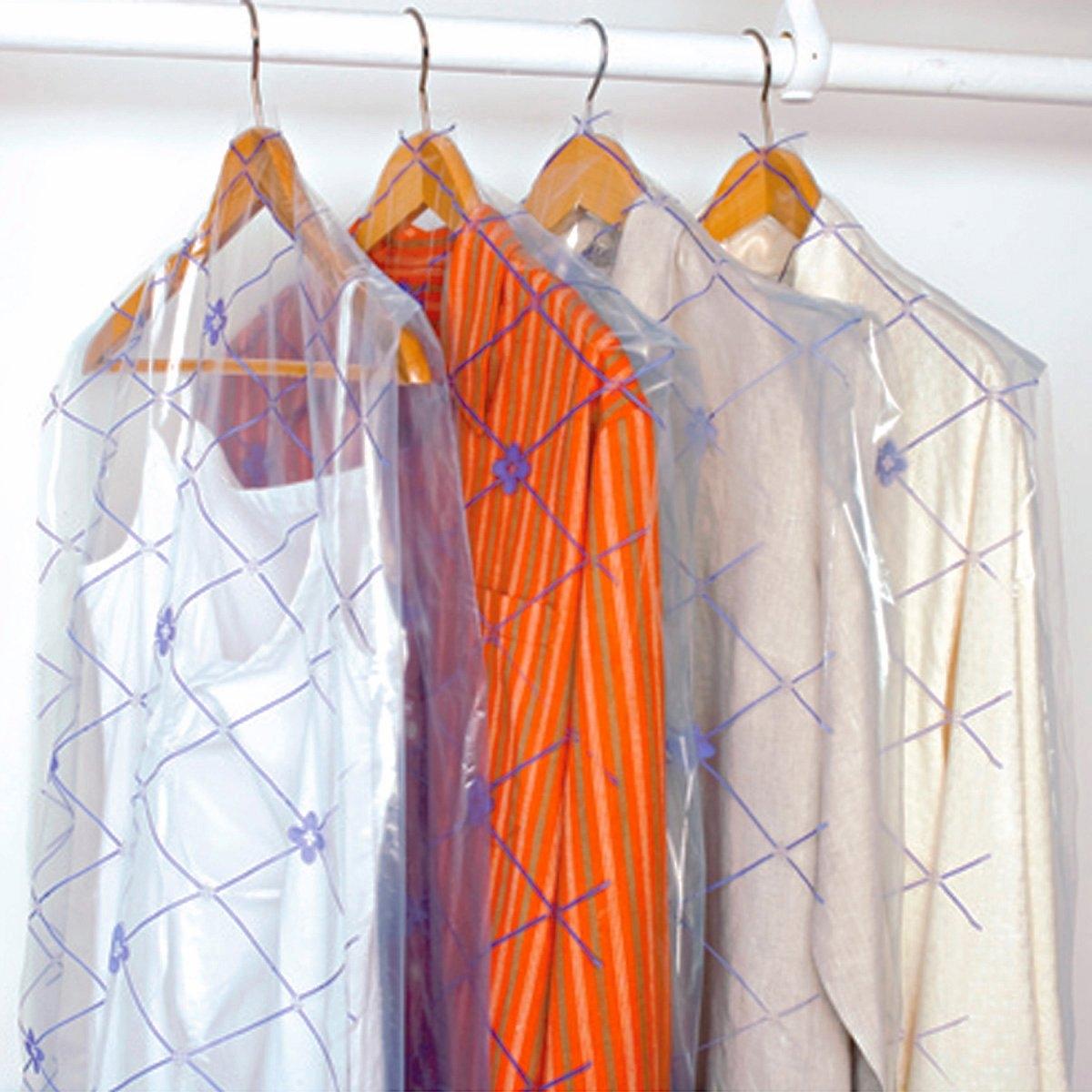 15 чехлов для одежды с обработкой против моли
