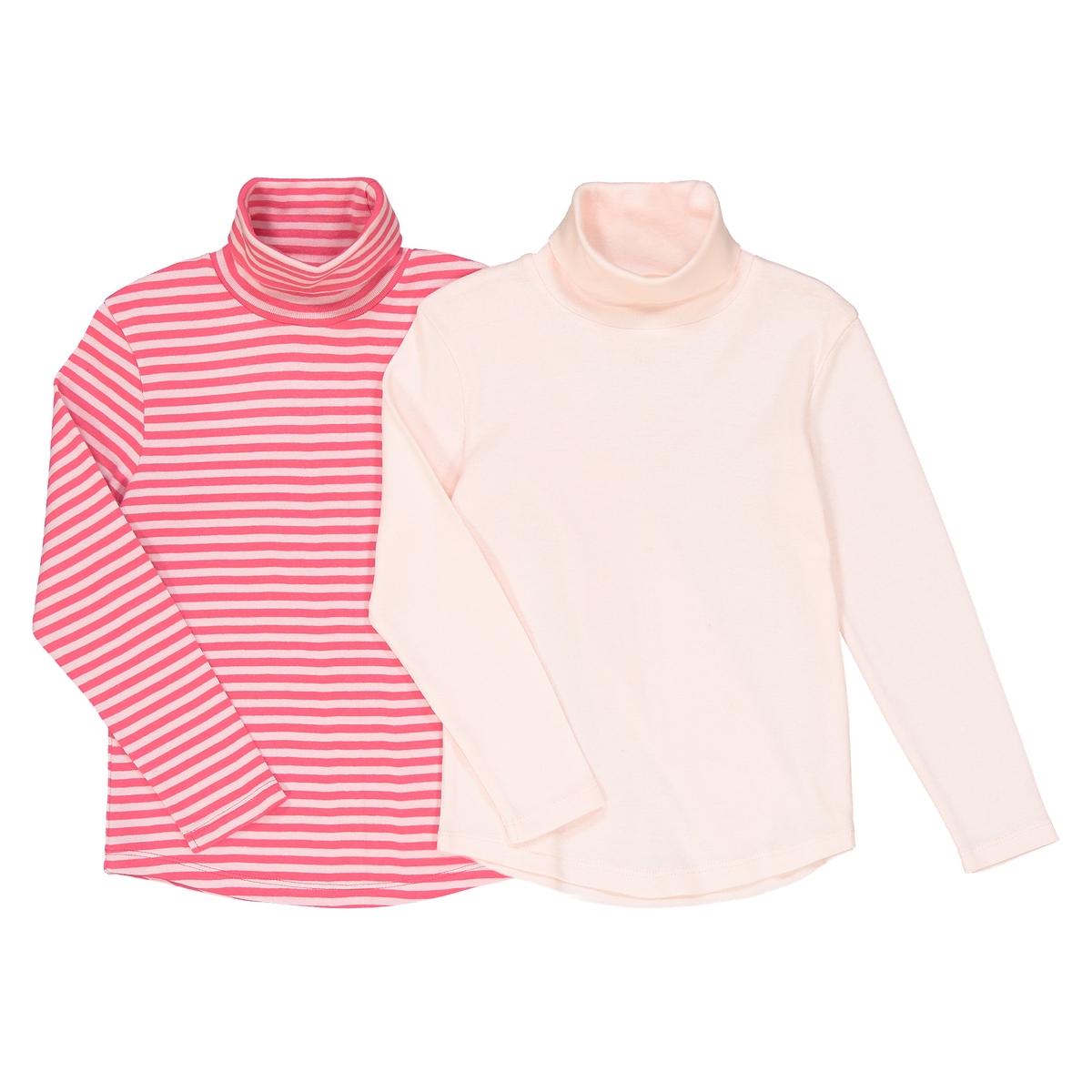 2 тонких пуловера в полоску с рисунком, 3-12 лет La Redoute Collections