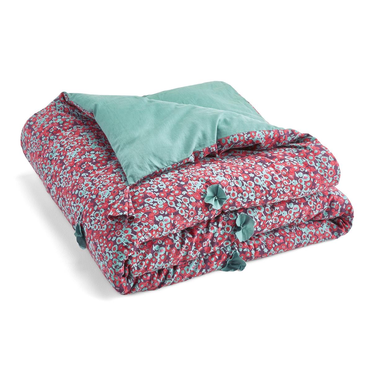одеяло стеганое из хлопковой вуали с рисунком колорблок Покрывало La Redoute Из хлопковой вуали Springi 110 x 180 cm другие