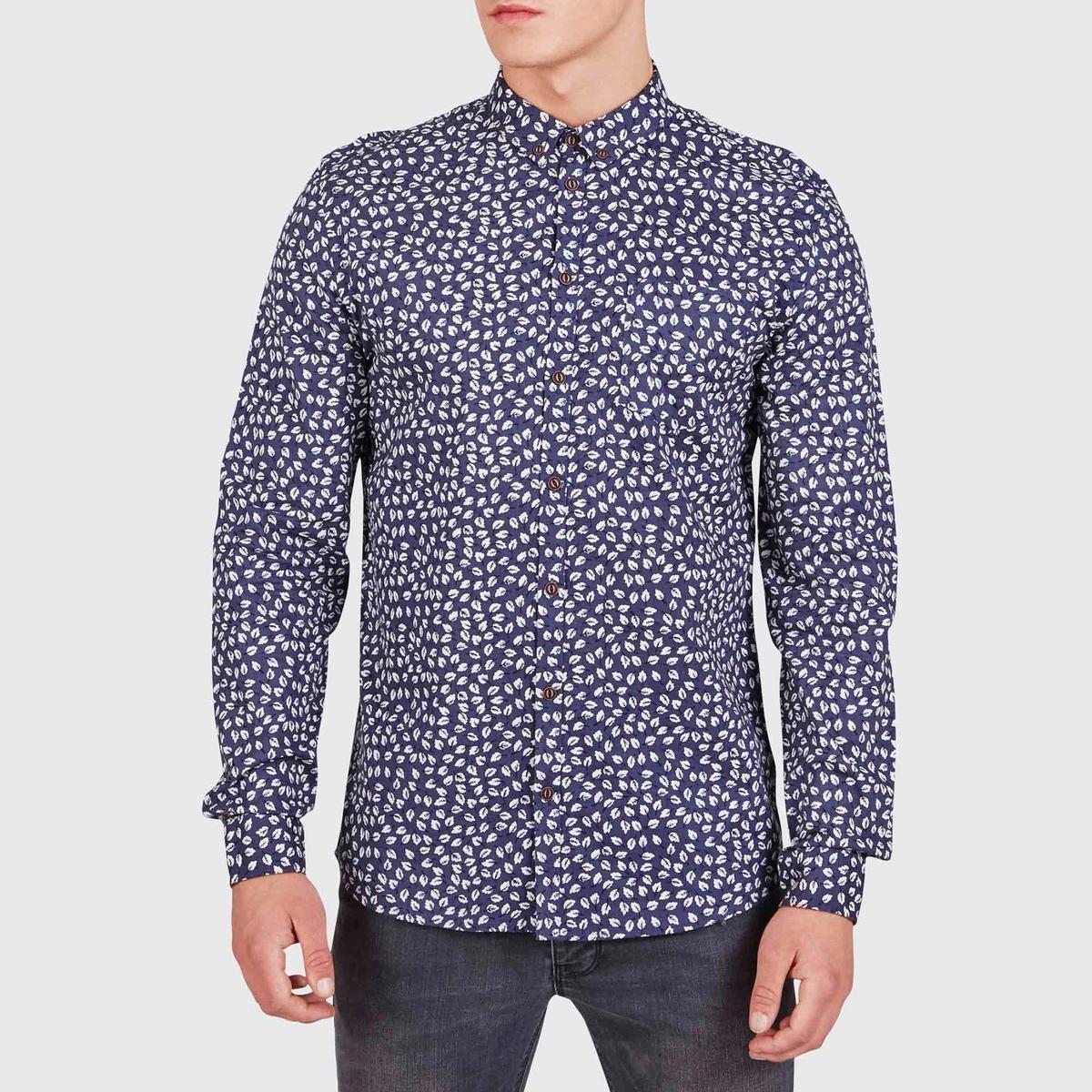 Рубашка с рисунком Nevay, 100% хлопка
