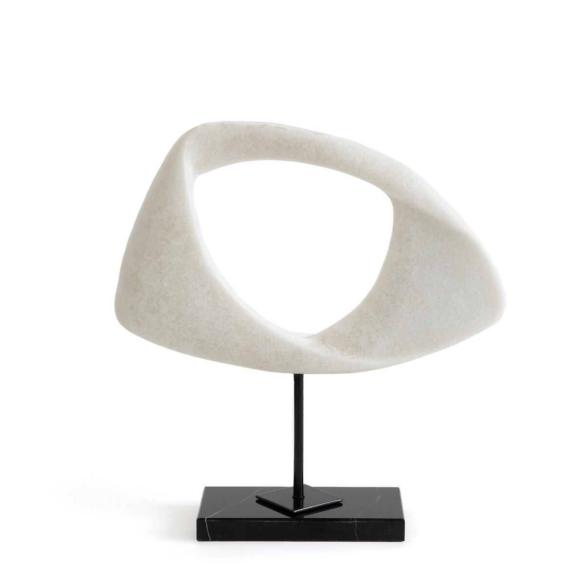 Скульптура LaRedoute Из полимера В33 см Mineral единый размер белый